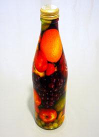 Фотопечать на бутылке