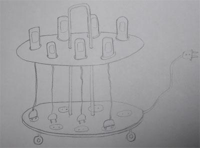Органайзер для мелкой электроники
