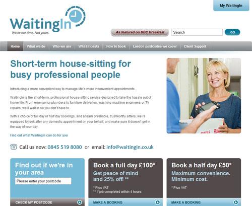 Сайт службы домашних сторожей