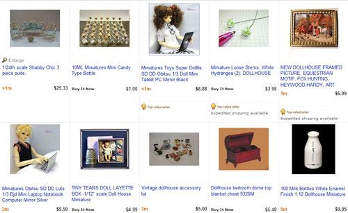 Кукольные домики на ebay