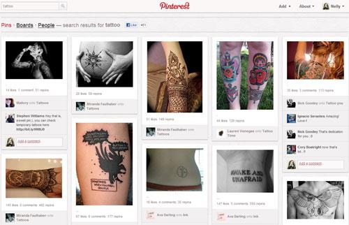 Колготки с татуировкой