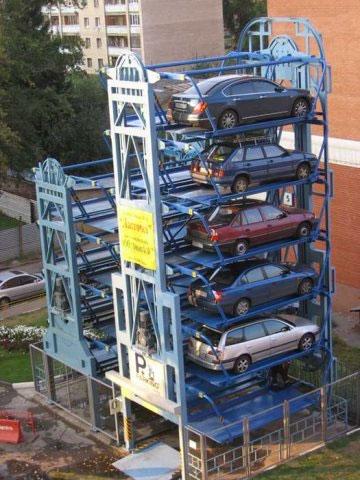 Карусельная парковка