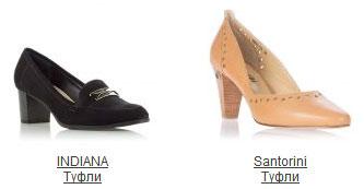 Туфли разных производителей имеют разные размеры