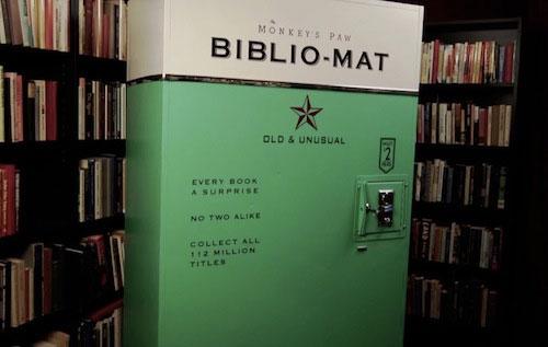 Вендинговый аппарат по продаже книг
