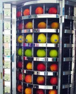 Вендинговая машина по продаже фруктов