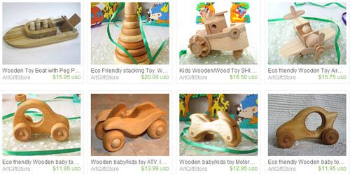 Украинские деревянные игрушки