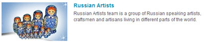 Группа Russian Artists на Etsy