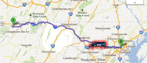 Использование GPS-навигатора в пассажирских перевозках студентов