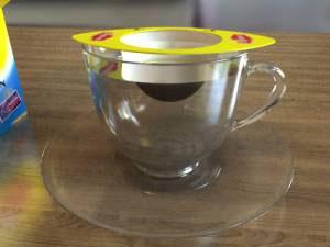 Одноразовое ситечко для заваривания чая