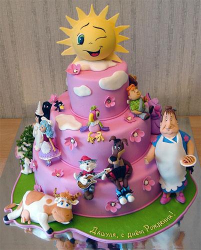 Детский торт Жанны Зубовой