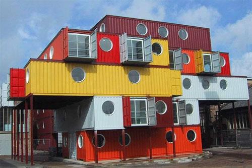 Дома из морских контейнеров