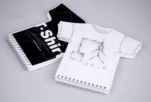 Блокнот для дизайнеров футболок