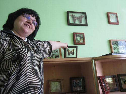 Выставка живых тропических бабочек в Сарове