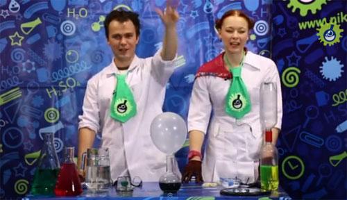 Научно-популярное шоу для детей