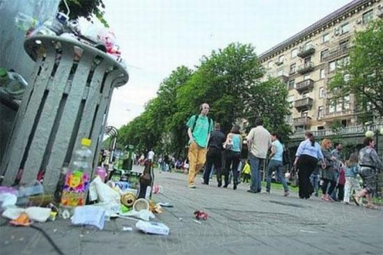 Мобильная бригада по уборке улиц