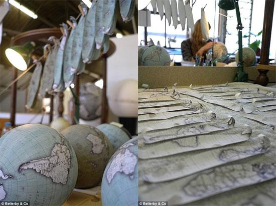 Изготовление глобусов