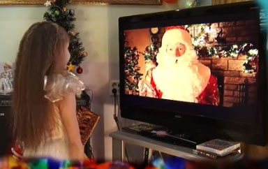 Новогодние видеопоздравления от Деда Мороза