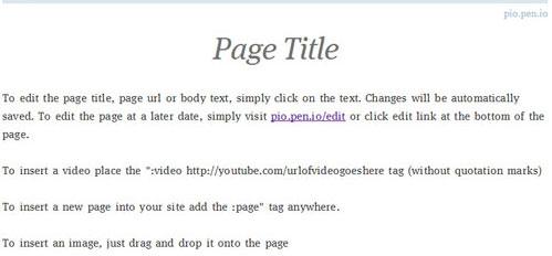 Первоначальный вид вашей страницы