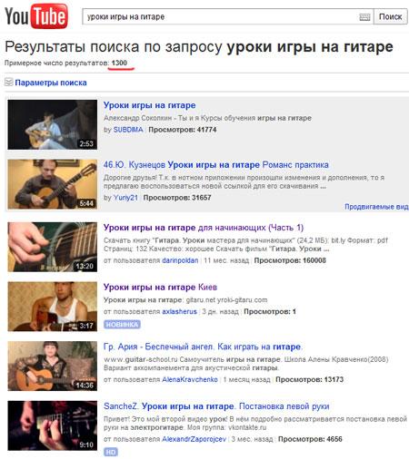Результаты поиска по запросу Уроки игры на гитаре