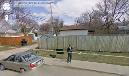 Google Street View для саморекламы