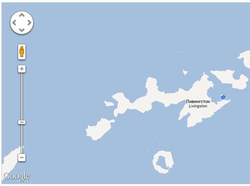 Доступные места на карте