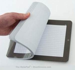 Блокнот в виде iPad
