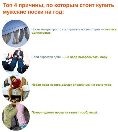 Носки оптом - это очень удобно даже для российских граждан