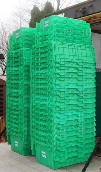 Пластмассовые коробки для переездов