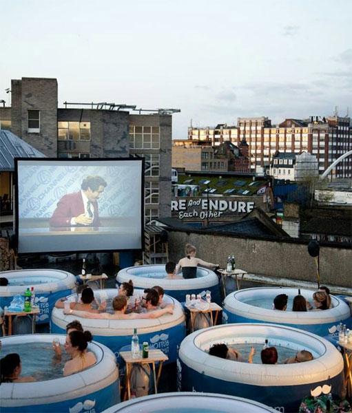 Кинотеатр на крыше