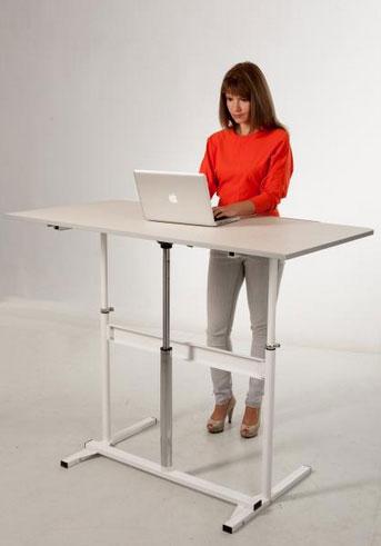 Компьютерный стол для работы стоя
