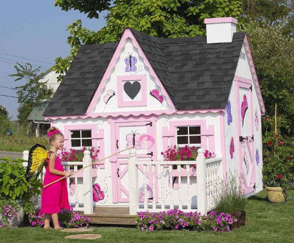 Детские домики для дачи