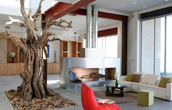 Деревья из стали