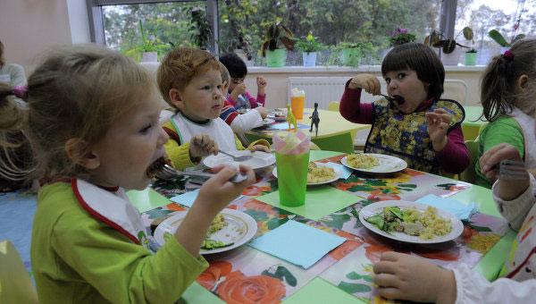 Еда как в детском саду