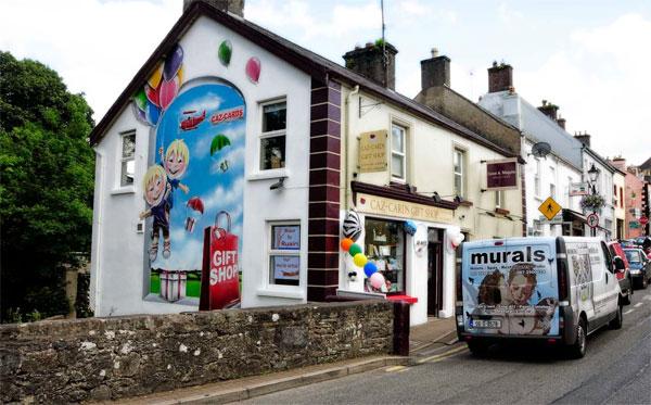 Покраска стен магазина для увеличения его продаж