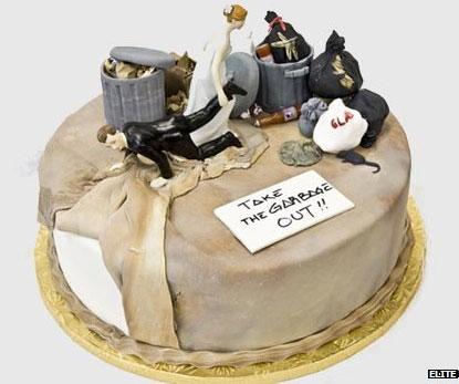 Торт для празднования развода