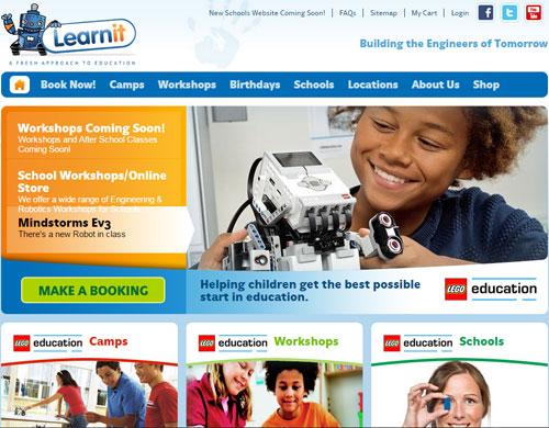 Сайт, с которого можно заказать курсы Лего