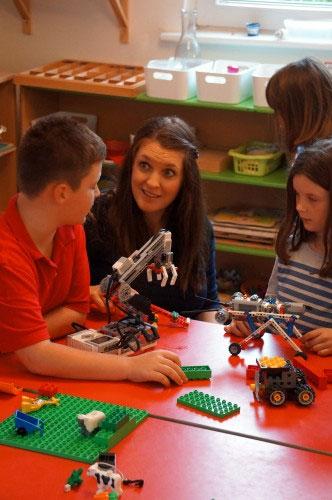 Обучение в игре с Лего