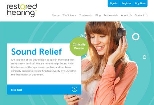 Сайт для лечения шума в ушах