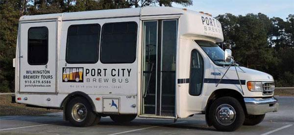 Автобус для пивного автобусного тура