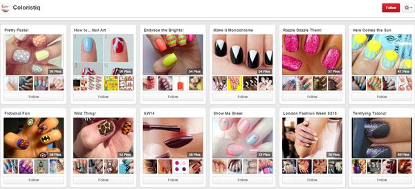 Лак для ногтей хорошо раскручивать в социальных сетях