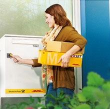 Немецкие почтовые ящики для посылок для нескольких семей