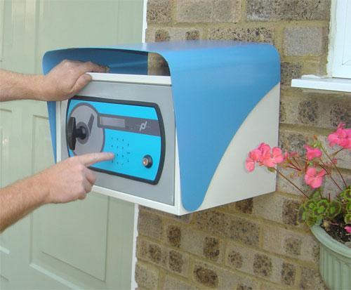 Этот почтовый ящик - с электронным замком