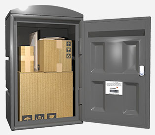 Как работает почтовый ящик для посылок