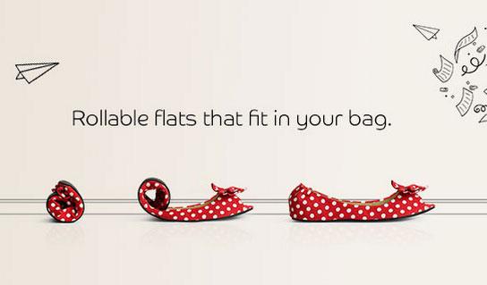 Запасные туфли, которые можно носить в кармане