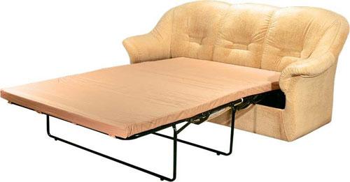 Неудобный раскладной диван