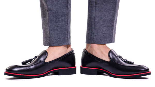 Цветные мужские туфли