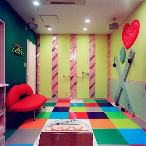 Комната для отдыха в японском отеле