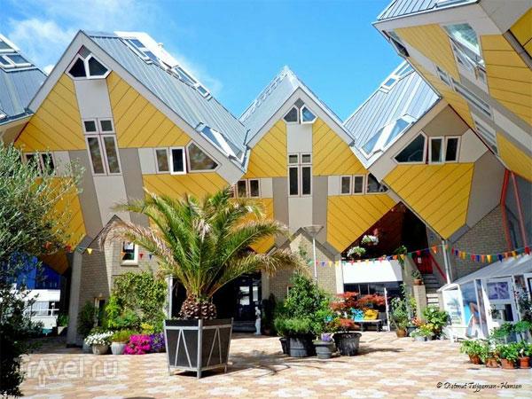 Необычные дома в Голландии, куда ходят экскурсии
