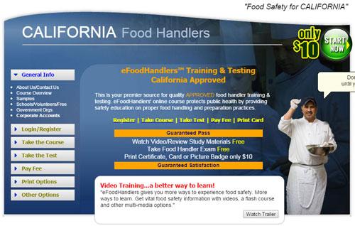 Как получить лицензию домашнего повара в Калифорнии