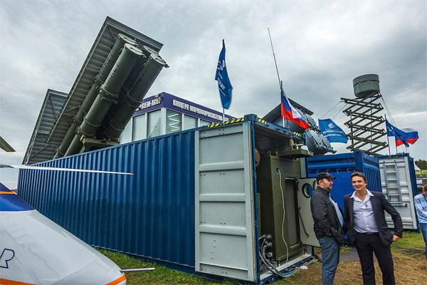 Ракетный комплекс в грузовом контейнере